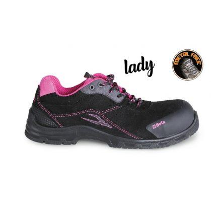 Beta 7214LN Vízálló női hasított bőr cipő, kopásálló orrvédő betéttel
