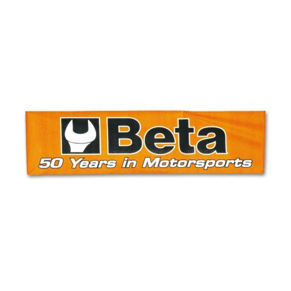 Beta 9559 Egyoldalon nyomott reklámfelirat, 3x0,8 m