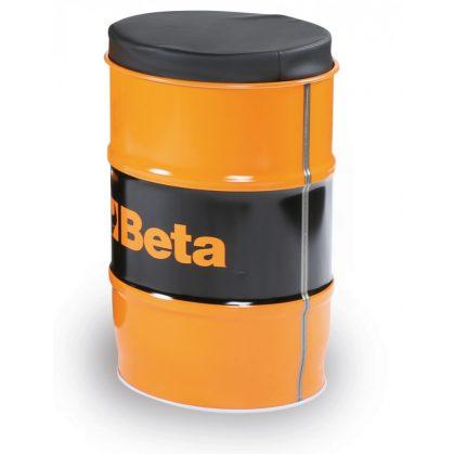 Beta 9565S Lemezacél hordószék kivehető műbőrrel