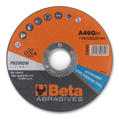 Beta 11045 vágókorong rozsdamentes acélhoz