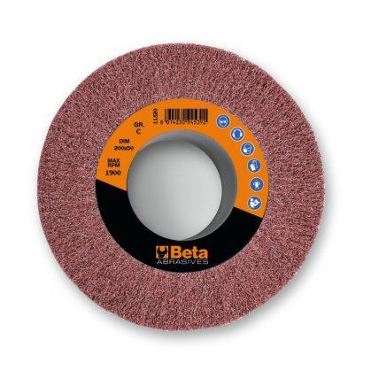 Beta 11320 nemszőtt furatos csiszolóhengerek, korund és műszálas anyag