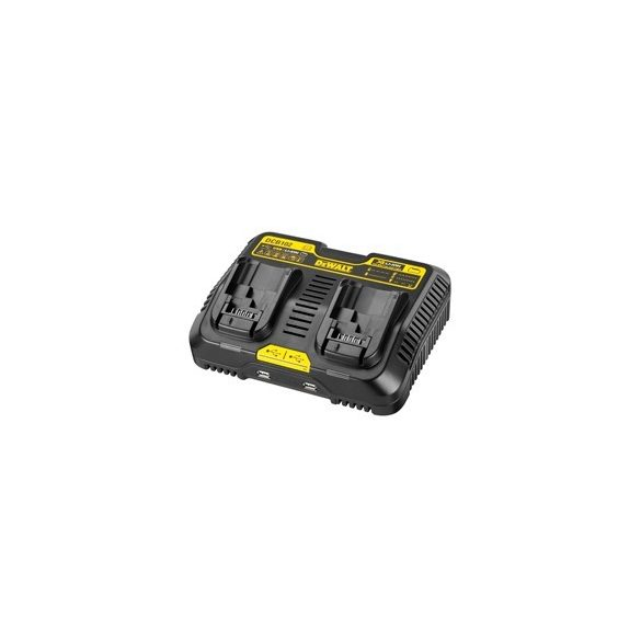 DeWalt DCB102 Kétállású USB töltő 10,8V-18V XR LI-Ion