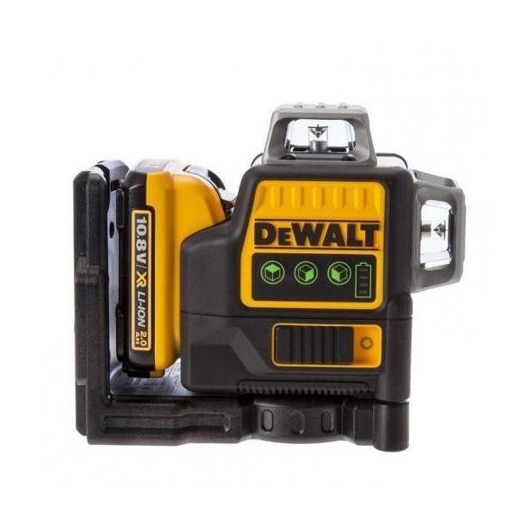 DeWalt DCE0811D1G Zöld vonallézer 10,8Vm 2x360