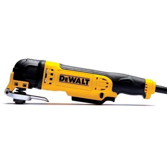 Dewalt DWE315-QS Multi-Tool - Multi-rezgőszerszám, 300W, 2db vágószerszám, delta talp + 25db papír
