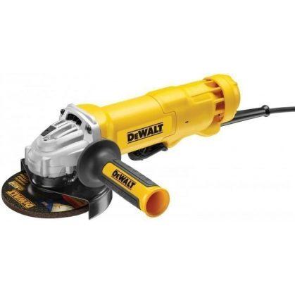 Dewalt DWE4233-QS Sarokcsiszoló biztonsági kapcsolóval